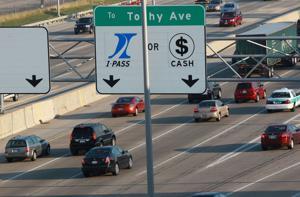 End of cash tolls irks driver.