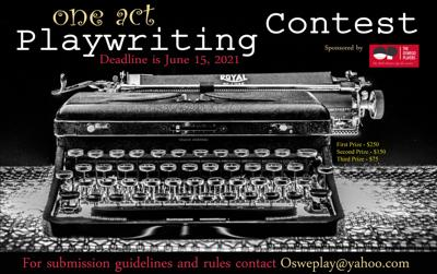 Deadline approaching for aspiring playwrights