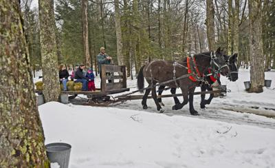 Maple Weekends canceled this season, but visitors still welcome at some shanties