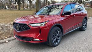 Sleek and sporty MDX gets Acura back on track.