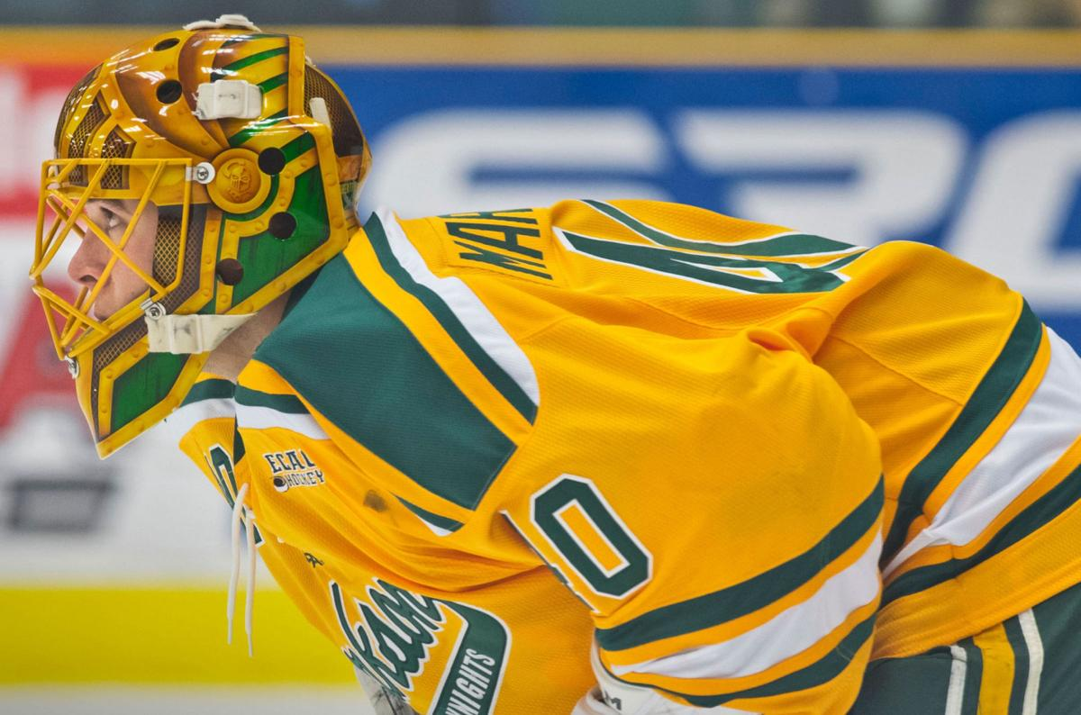 Marotte a finalist for ECAC Hockey player of year