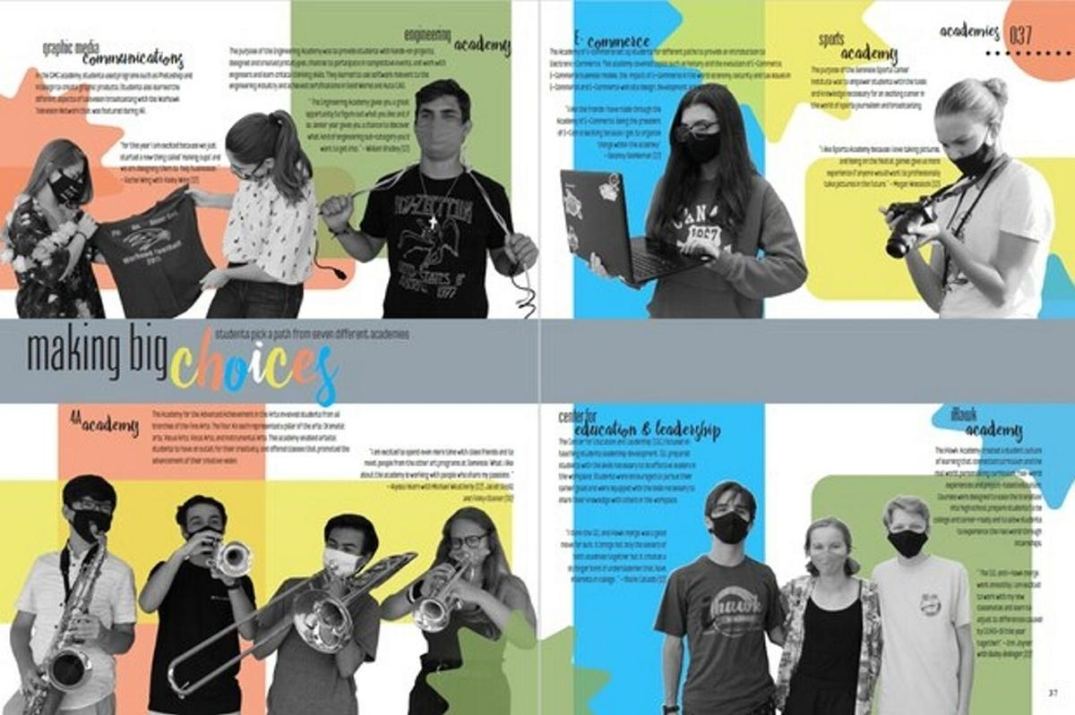 How do you fill the high school yearbook in a pandemic? Get creative
