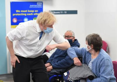 Boris Johnson aims to ease lockdown, with schools back first