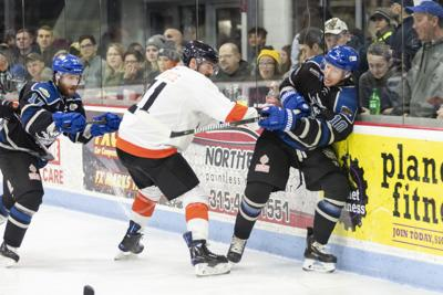 Marker, Wolves defeat Enforcers on road