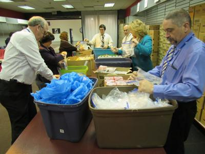 Massena schools get shipment of food