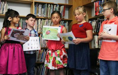 CER second graders become published poets