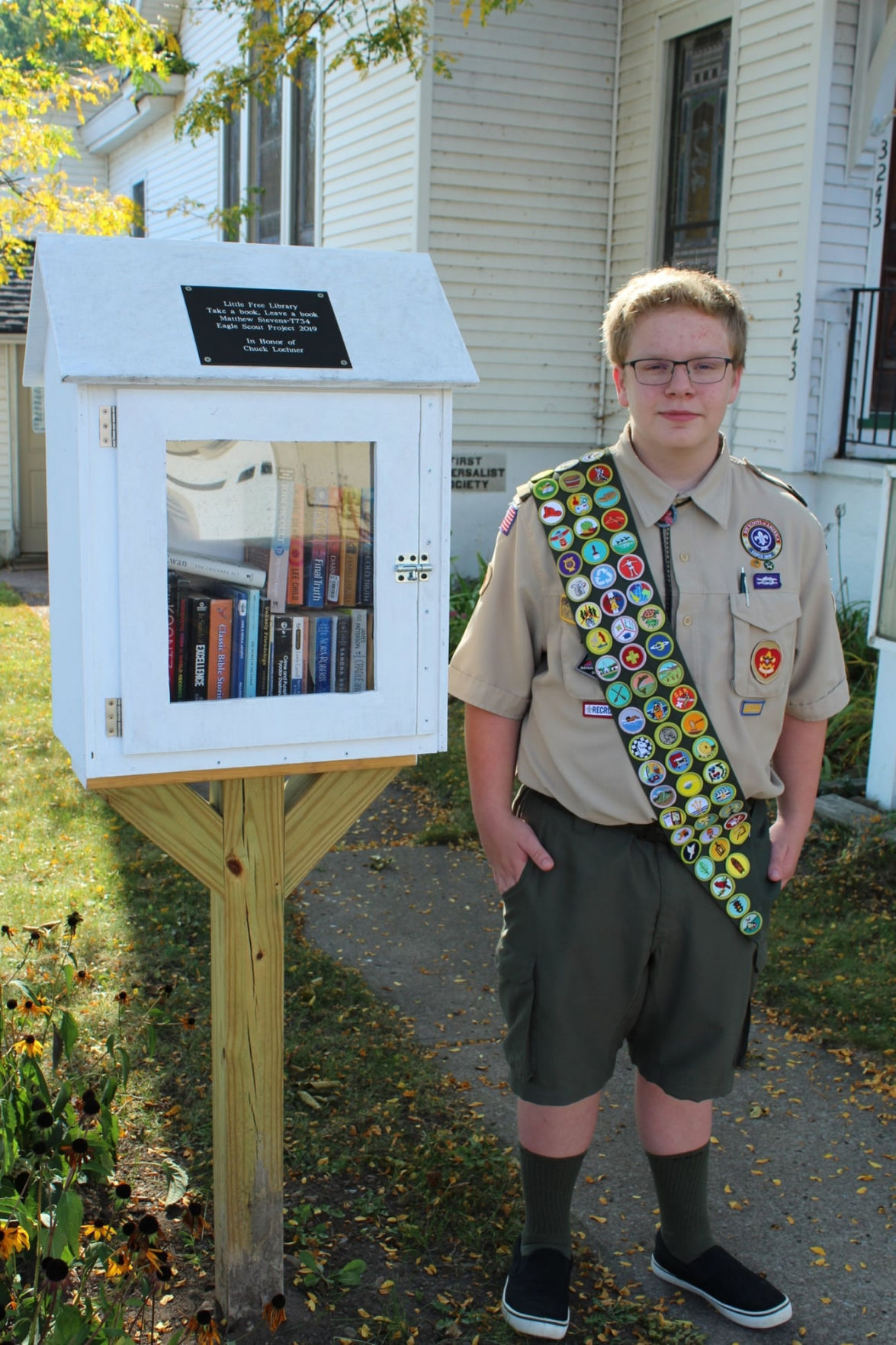 Central Square welcomes another Eagle Scout