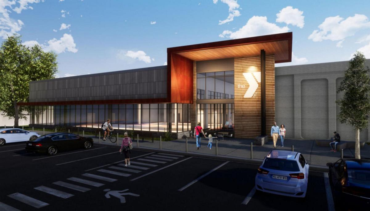 Group gets preview of YMCA project