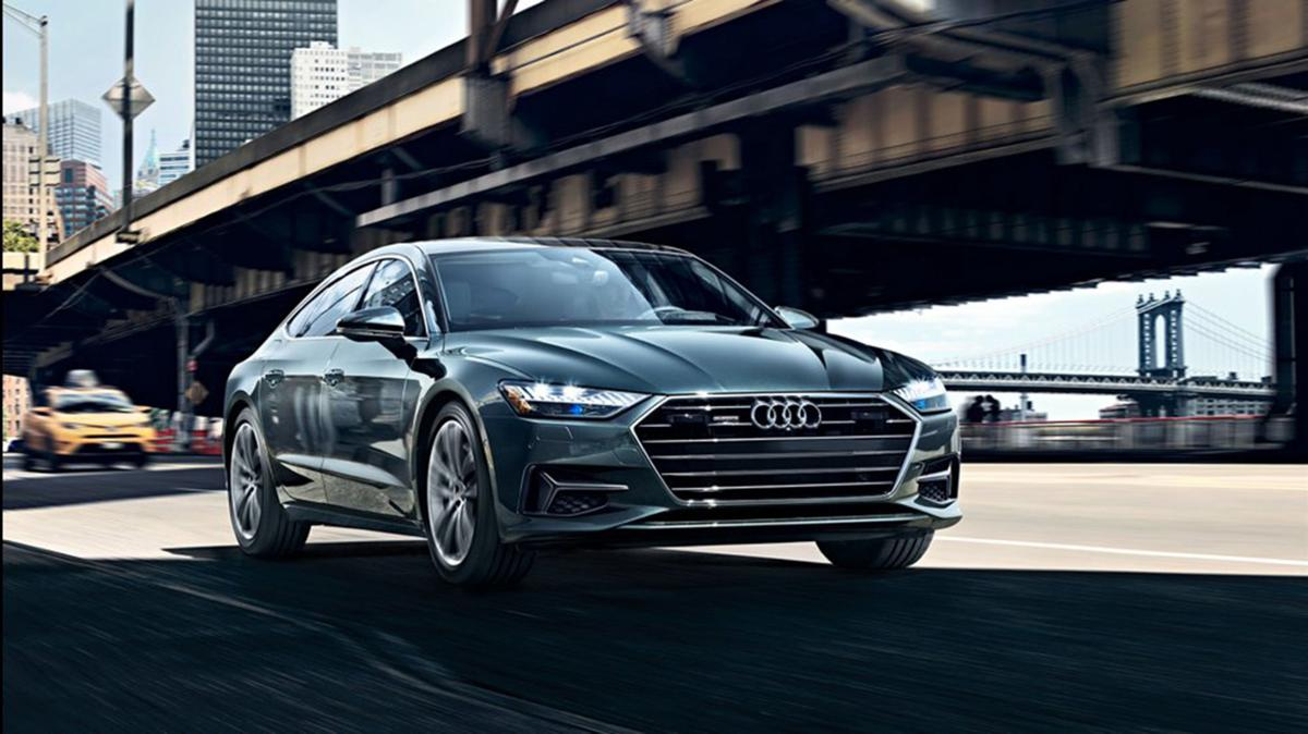 Audi A7 a study in advanced (mind-blowing) technology