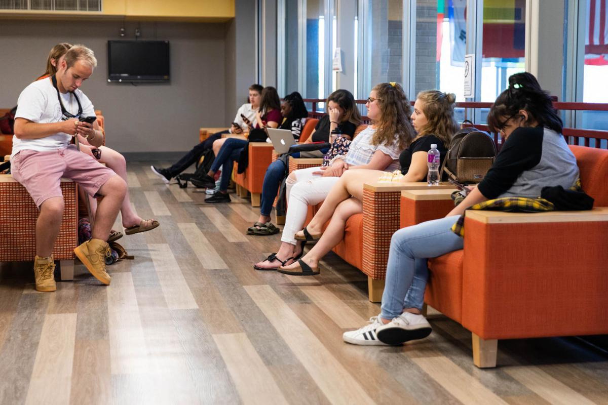 JCC fall semester opens amid free food, fun