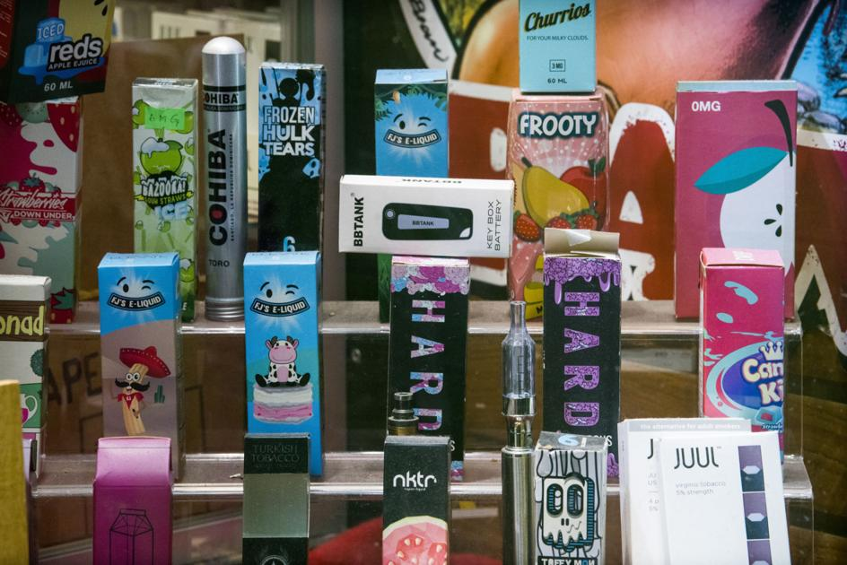Emergency action bans sale of flavored e-cigs