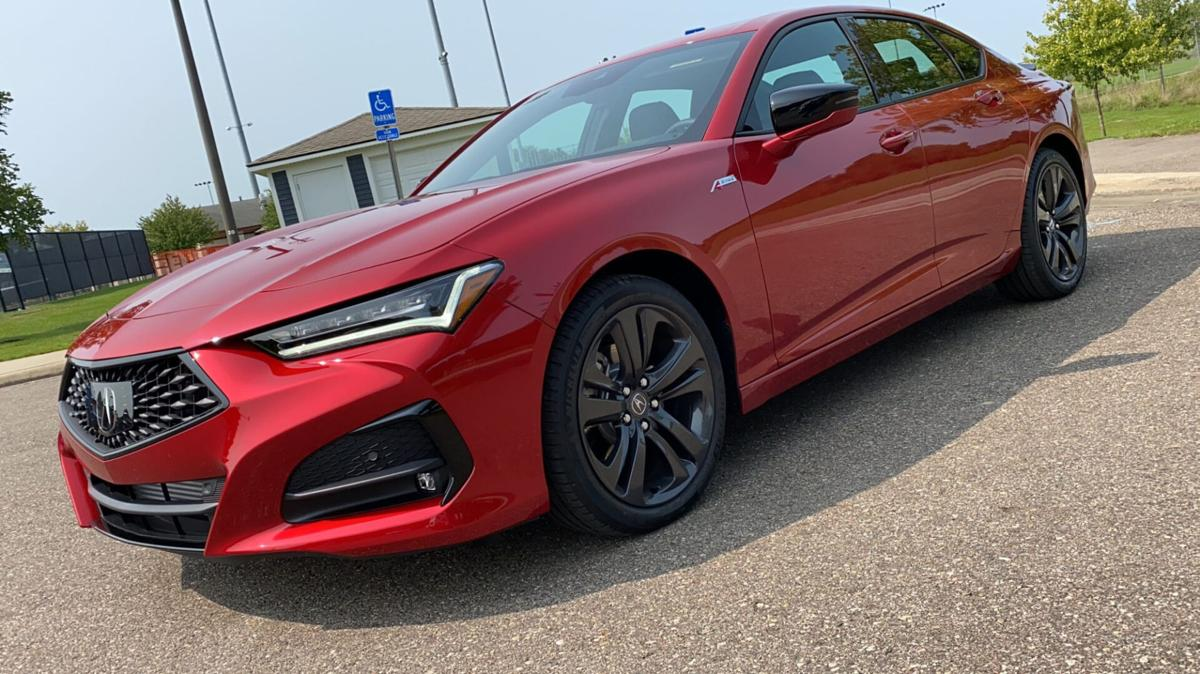 2021 Acura TLX rides new platform to become brand's best sedan in decades