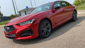 2021 Acura TLX rides new platform to become brand's best sedan in decades.