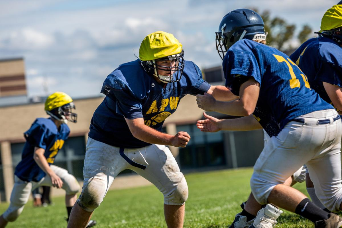 A young APW football team hopes to avenge last year's title game loss