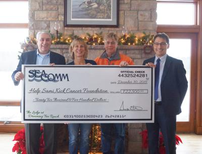 Seacomm helps kick cancer with $22,500 donation