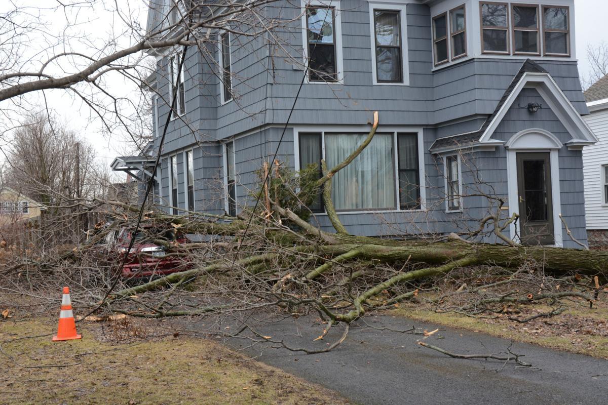Wind gusts cause damage | News | nny360 com