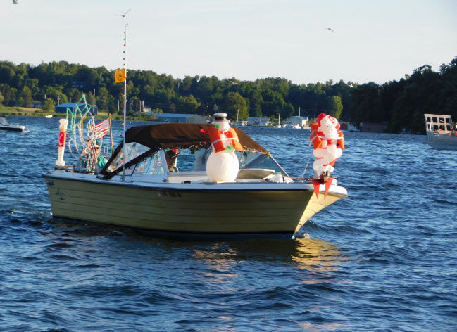 Henderson Harbor to celebrate Christmas in July