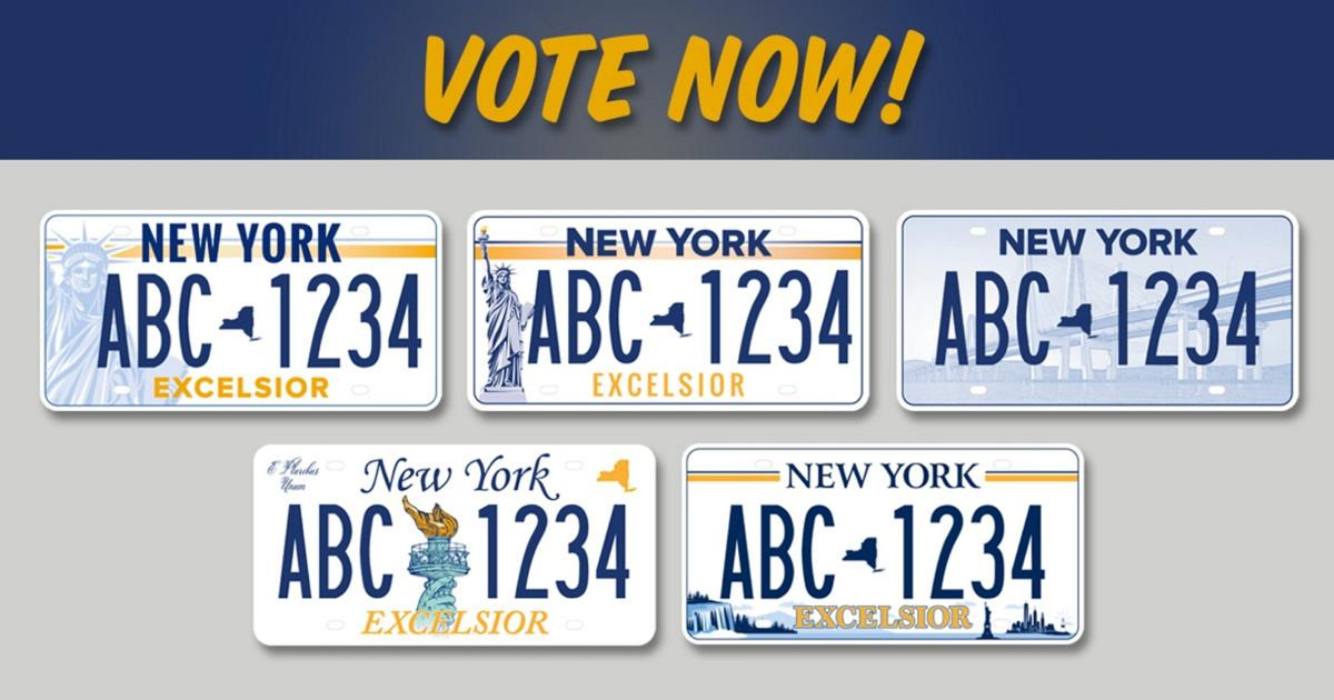 State opens voting for new license plate design