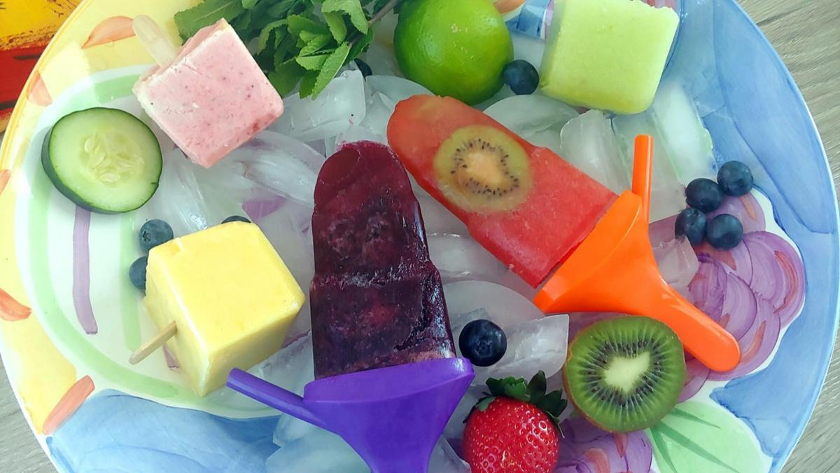 Chill out: Stick it to lockdown with homemade popsicles