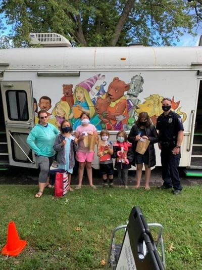 Oswego Bookmobile-Driving Books Home receives grant