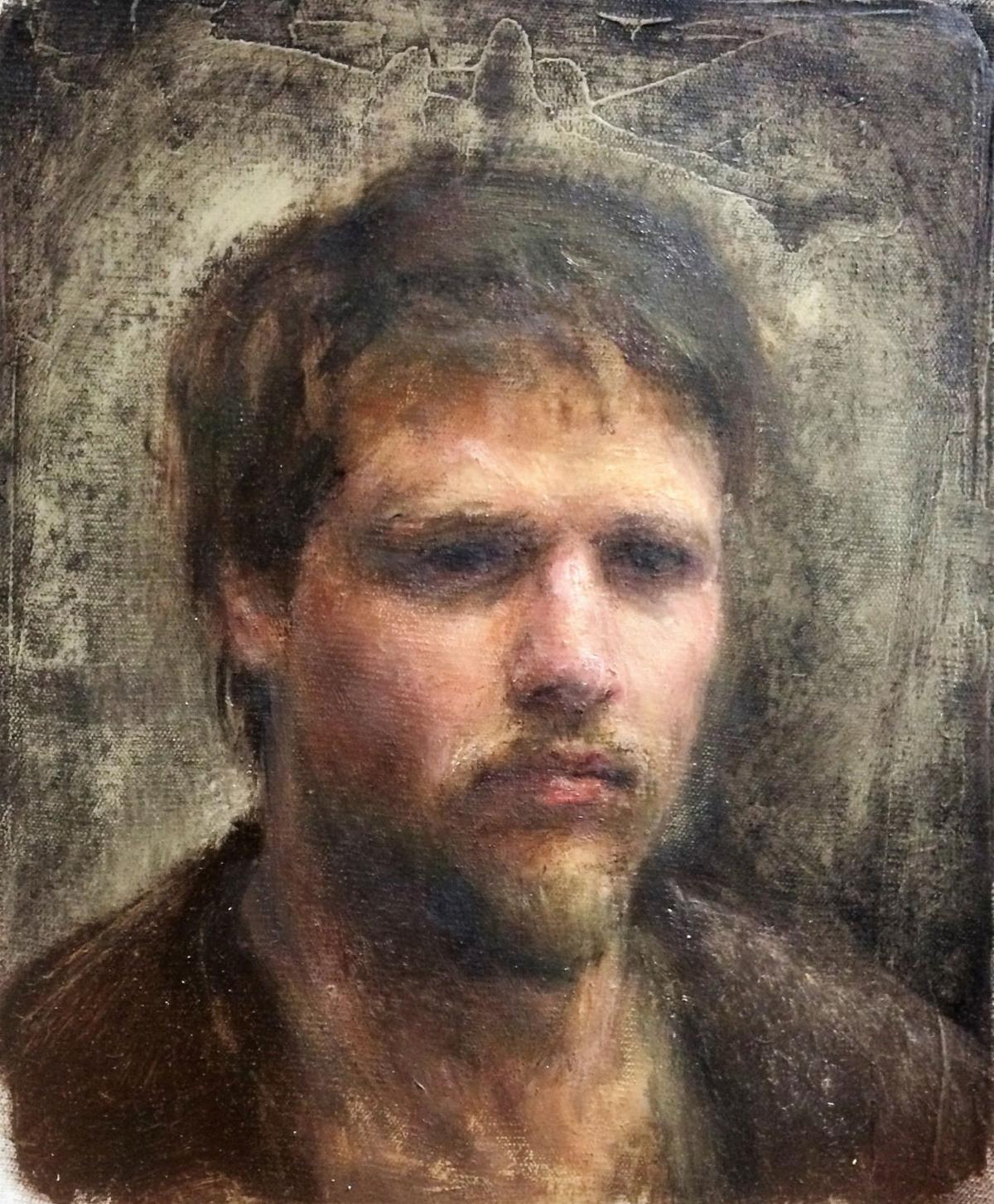 'Odd' squad Black River native apprentices to a master painter in Europe