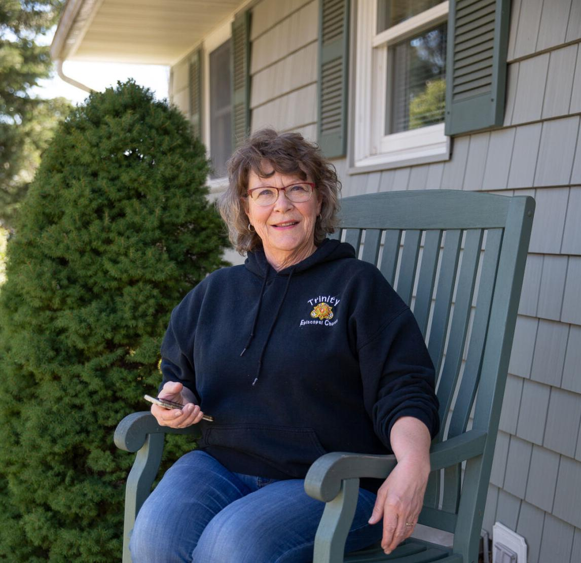 In the spirit of Easter, woman finds a higher calling