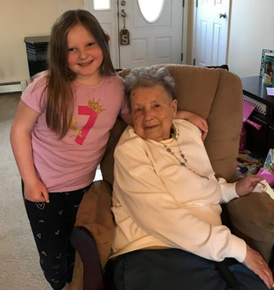 Anna Birckhead celebrates 102nd birthday