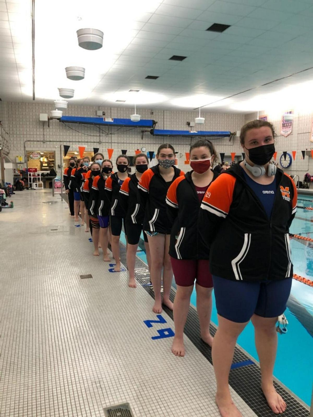 Mexico varsity girls swim team shows what they can do