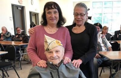 101-year-old veteran beats COVID, goes home on birthday