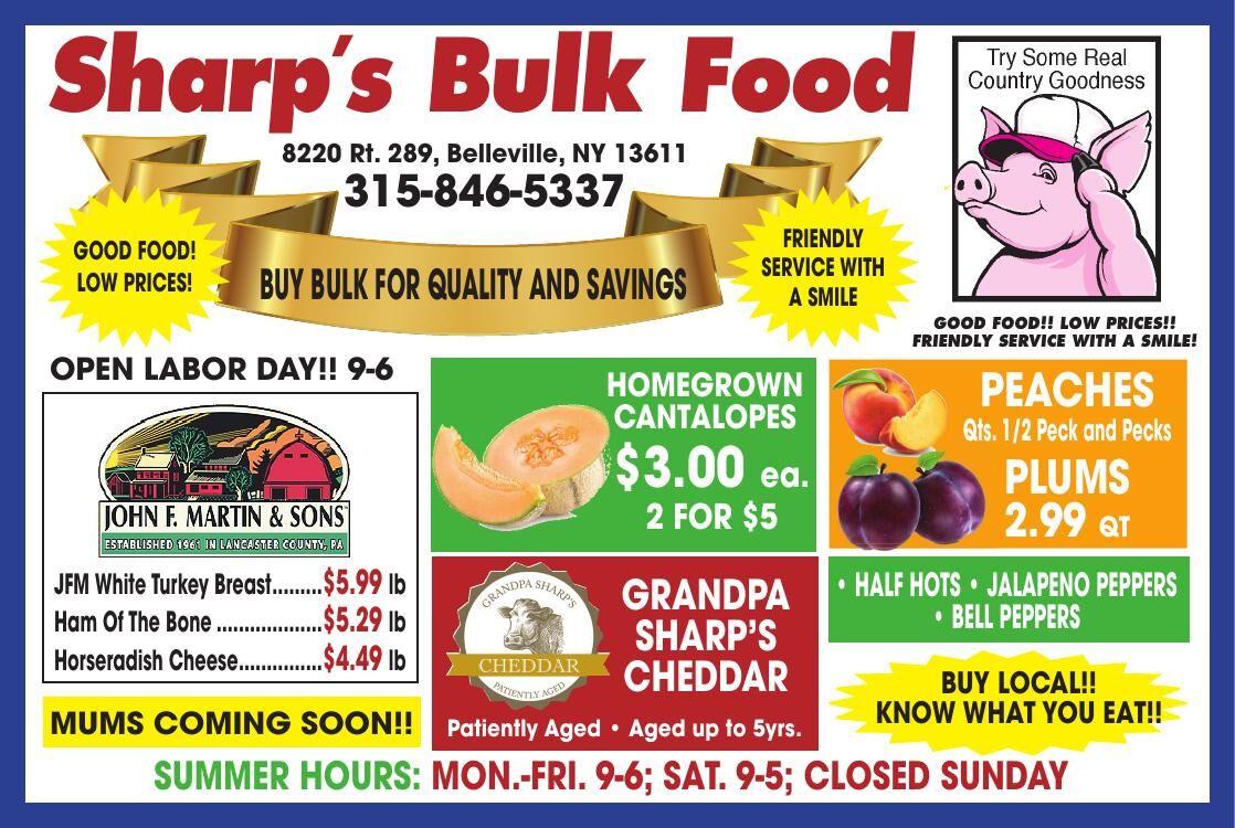 Sharps Bulk Food