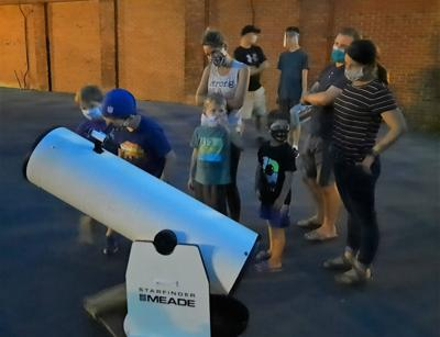 Sci-Tech's Observe the moon night a success