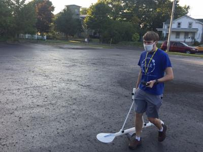 SUNY Oswego anthropology student potentially discovers historic Fort George location