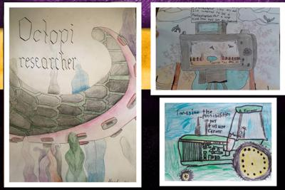 Hannibal students' career-focused artwork advances to state level