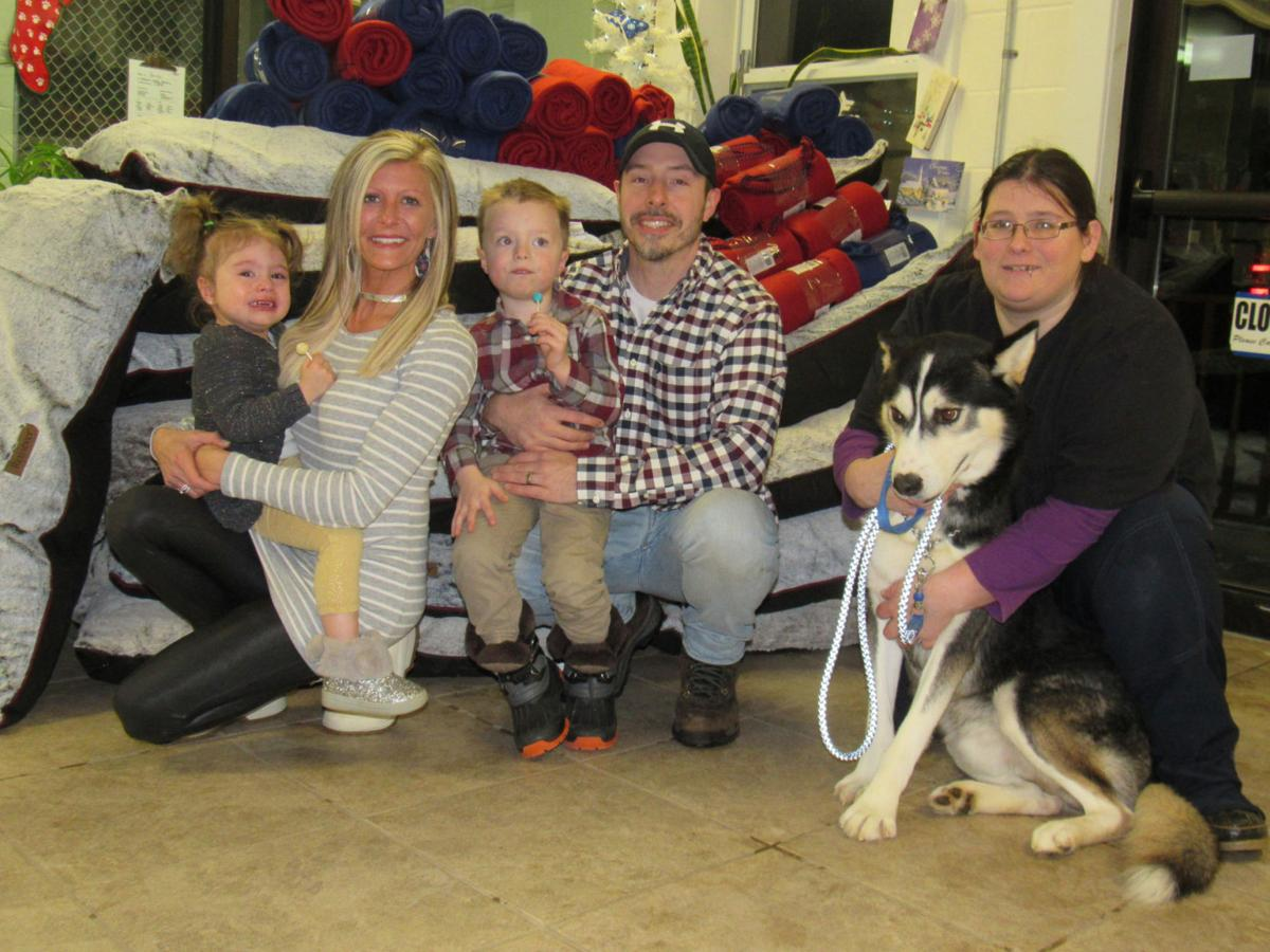 Family gives to local animal shelters