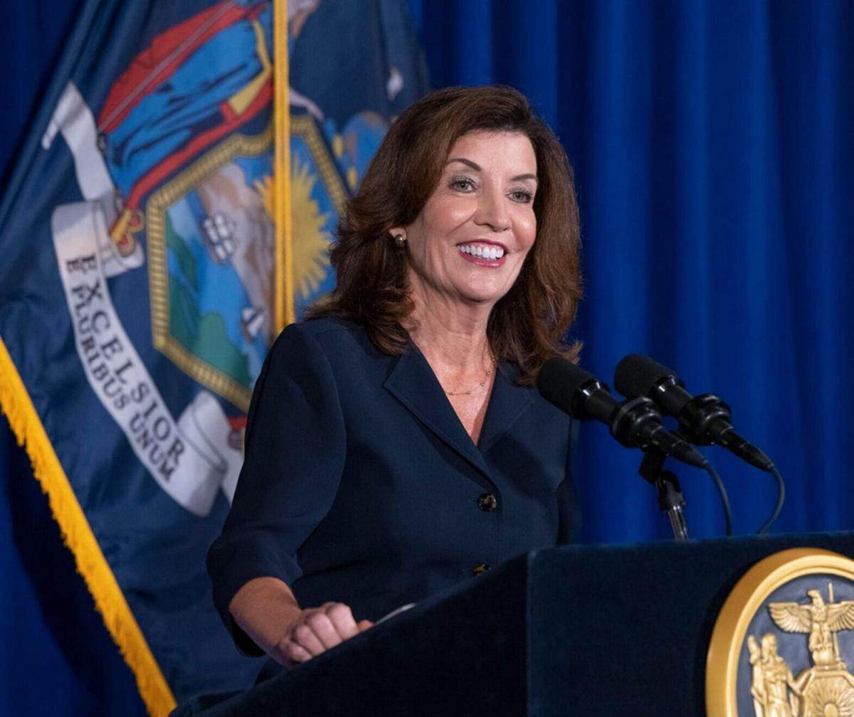 Hochul takes the helm as governor