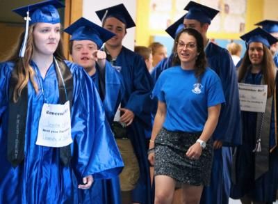OHS Class of 2019 hosts annual graduation walk