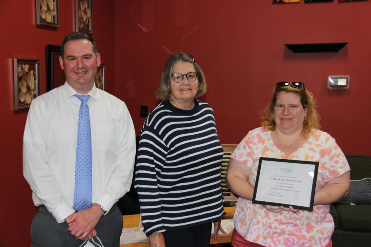 United Helpers honors three employees with Spies Awards