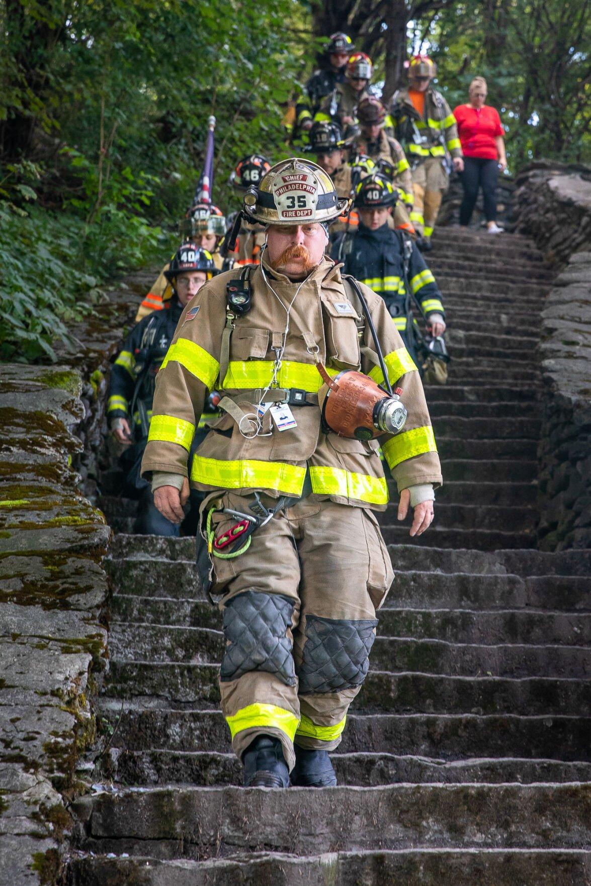 Legion, local firefighters honor fallen of 9/11