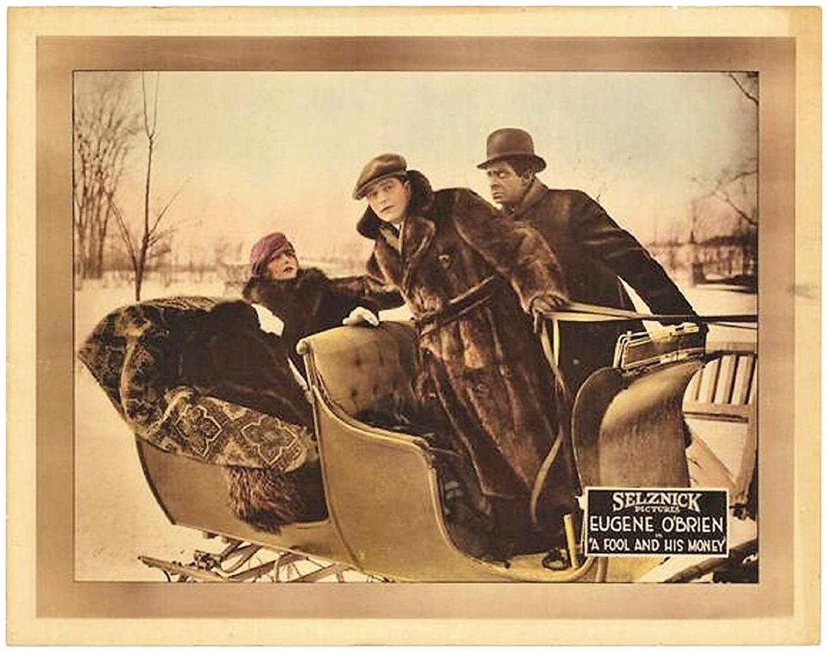 A look back on the silent film era and NNY's 'A Fool and His Money'