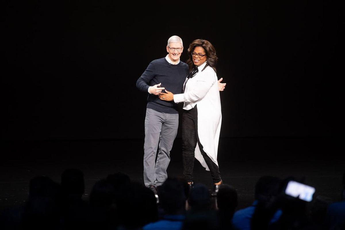 'Oprah's Book Club' moves to Apple TV+
