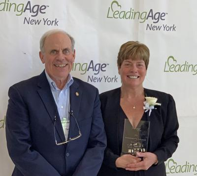"""Nurse Practitioner Sandra Ford receives LeadingAge New York's """"Professional of the Year"""" Award"""