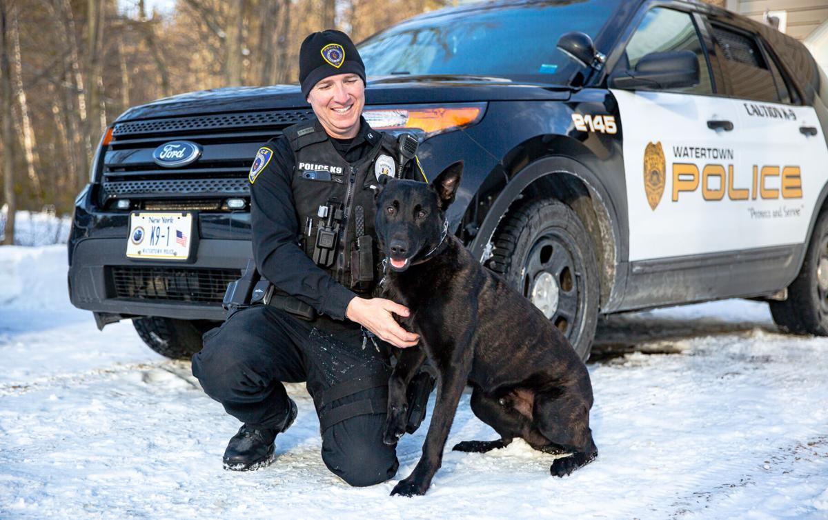 City police officer welcomes new K-9 partner