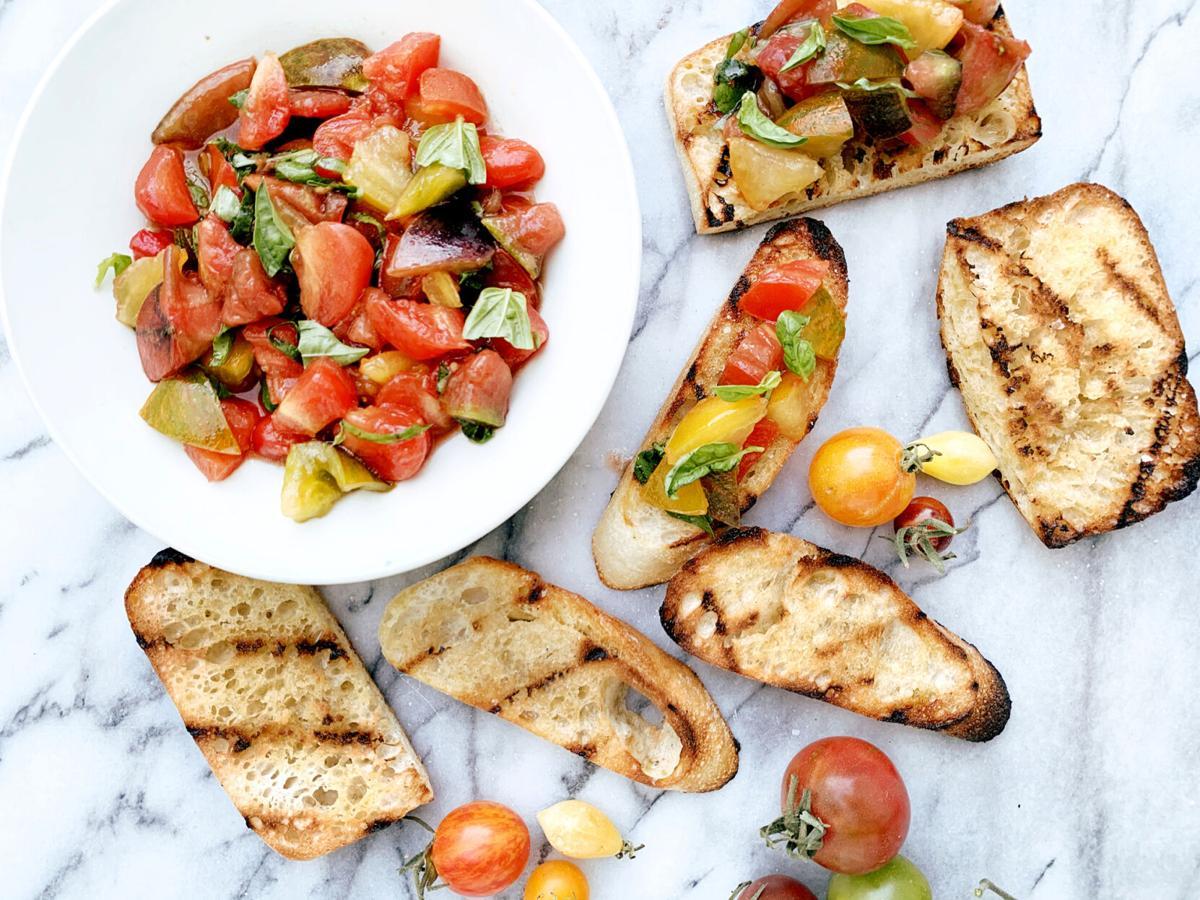 Tiny tomatoes make for a betta BRUSCHETTA