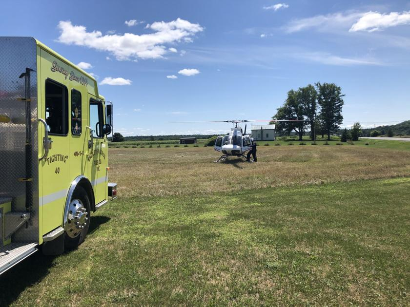 15-year-old airlifted to Syracuse after crashing dirt bike into a lawn mower in 'freak accident'