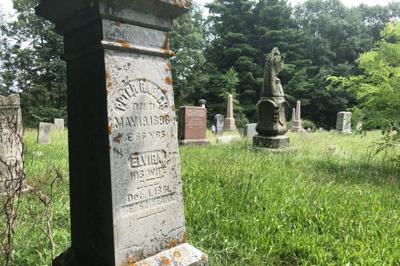 Proceed with care when cleaning a gravestone