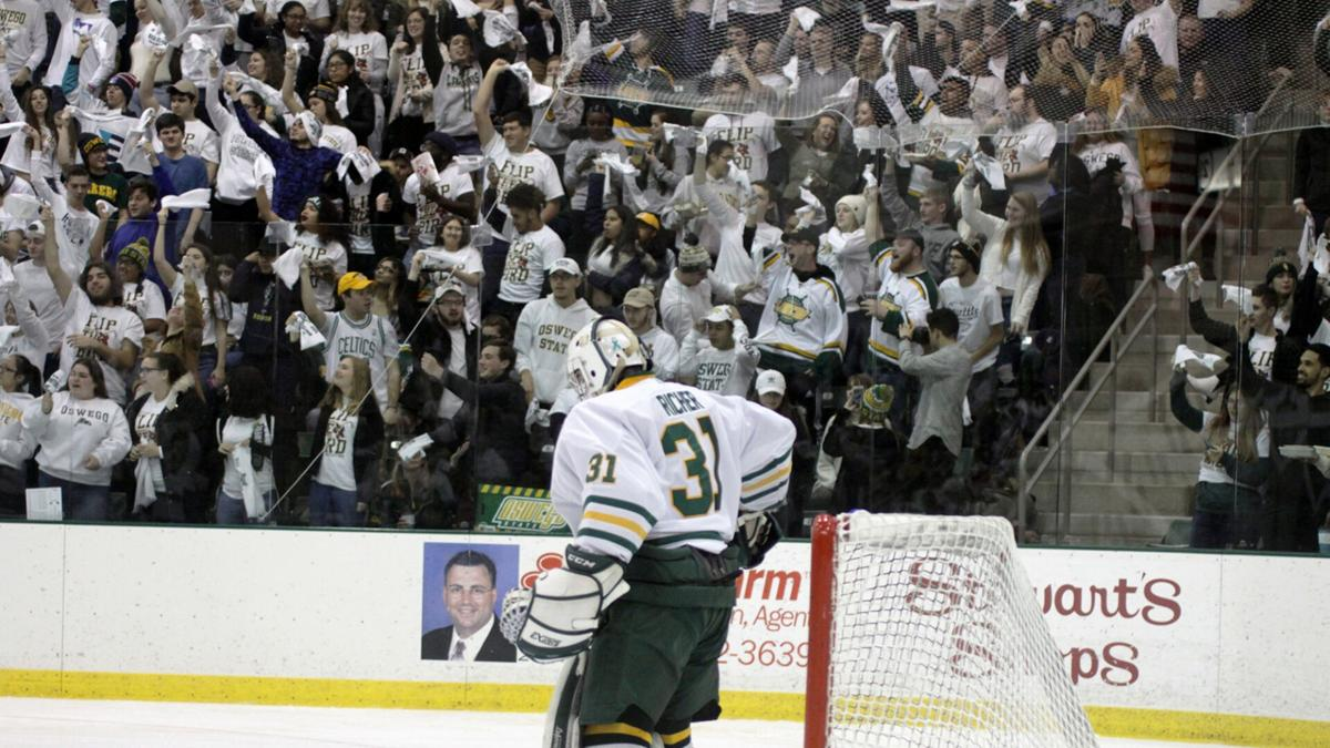 Oswego State men's and women's ice hockey schedules unveiled