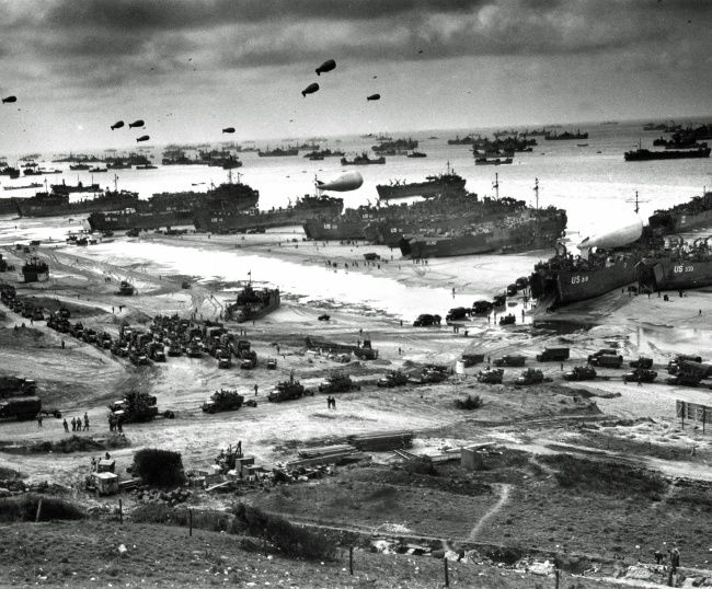 During WWII, something was coming
