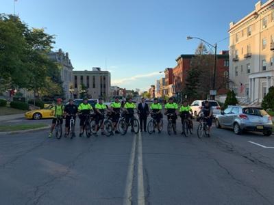 International Police Mountain Bike Association School hosted in Oswego