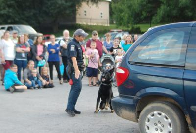 Lewis event honors K-9 friends