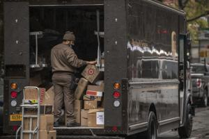 FedEx, UPS can't get enough vans to keep up.